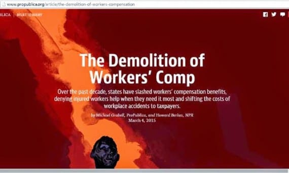 workers' comp web page
